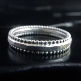 Hammered Sterling Silver Wedding Band