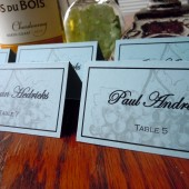 Vintage Vineyard Escort/Place Card