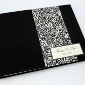 Personalized Unlined Guest Book