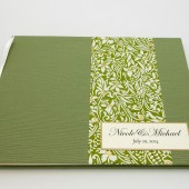 Personalized Ribbon-Bound Guest Book