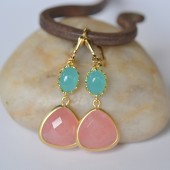 https://www.etsy.com/listing/117974562/coral-pink-teardrop-and-turquoise-oval