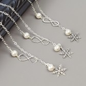 Snowflake Bridesmaid Necklace