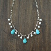 Turquoise Bridal Necklace