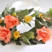 Garden Wedding Headband