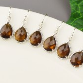 Brown Bridesmaid Earrings