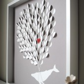 3d balloon guest book