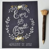 Custom Bride and Groom Print