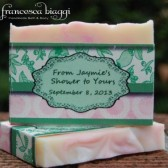 Custom Soap Favors