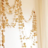 Eco Wedding Paper Garland, from Vintage Book, Weddings decoration, wedding backdrop, rehersal dinner, photo booth prop