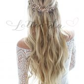 """Lyra"" Bridal Hair Vine Hair Accessory"