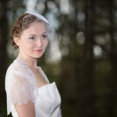 Chantilly Lace Bridal Bolero