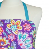 Kitchen Apron | Purple Fiesta