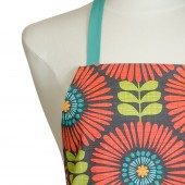Kitchen Apron | Purple Paisley