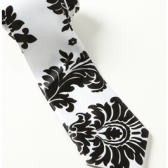 Boys - Damask Neck Tie
