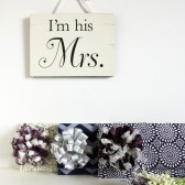 Purple and Gray Bridesmaid Clutches - Danielle style