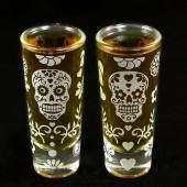 Day of the Dead Shot Glasses