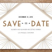 Printable Save the Date - Deco