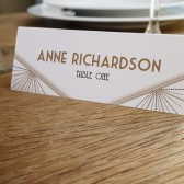 Place Card Template - Deco