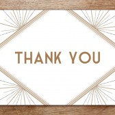 Thank You Card Template - Deco