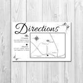 Wedding/Reception Map - Elegant