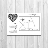 Wedding/Reception Map - Magical Heart