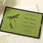 Dragonfly Wedding Invitation