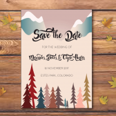 grand budapest hotel wedding, rustic, mountain,rustic save the date, fall, lakeside wedding, wes anderson,
