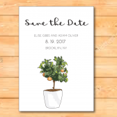greenery, greenery save the date, green, white, green and white, green and white save the date