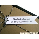 white banner tags - personalized - wedding invitation decoration - wedding favor tags - double sided printing - set of 20