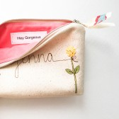 Hey Gorgeous Cosmetic Bag