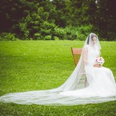150 Inch Drop Wedding Veil