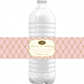 Elegant Script Water Bottle Labels