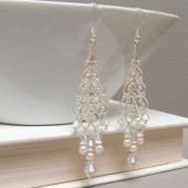 Juliet Pearl Chandelier Earrings