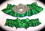 Emerald Green Regal Garter