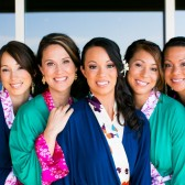 Doie Lounge Bridesmaid Robes, Multi Color