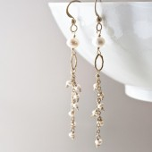 Slip of Pearl Earrings
