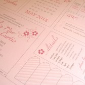 Wedding Stationery Collection, DIY, Handmade, Crafted by You, Customised, Bespoke, Paper Buttercup, Save the Date, Invitation, RSVP, Order of Service, Place Name Tags, Thank You Card, Gift Tags
