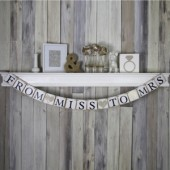 From Miss to Mrs Wedding banner