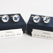 Father of the Bride & Groom Cuff Links