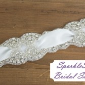 SparkleSM Bridal Sashes - Rosemary