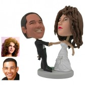 Personalized Cake Topper - Ballroom Dance