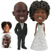 Personalized Cake Topper - Hands In Pockets