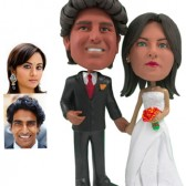 Personalized Cake Topper -  Beautiful Couple