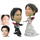 Personalized Cake Topper -  Groom On One Knee