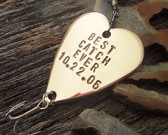 Personalized Fishing Lure - Best Catch Ever and Date