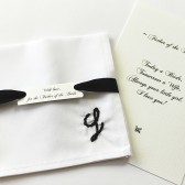 Personalized Father of the Bride, Father of the Groom Handkerchief, Father of Bride Gift, Father in Law, Monogrammed Pocket Square