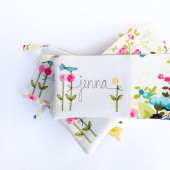 Floral Wedding Clutches