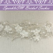Liv Bridal Dress Sash
