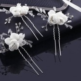 Wedding Flower Hair Pins