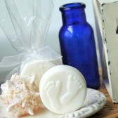 Footprint Soap Favors . Beach Wedding